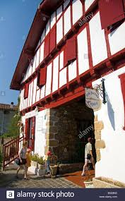 southwest architecture basque architecture in the village of ainhoa pyrenees atlantiques