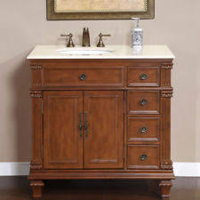 Marble Top Bathroom Cabinet 36