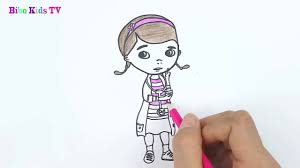 coloring pages draw doc mcstuffins youtube