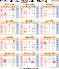 2015 calendars 2015 calendar with federal holidays u0026 excel pdf