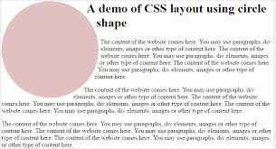 template layout div free templates of css layout by using shapes