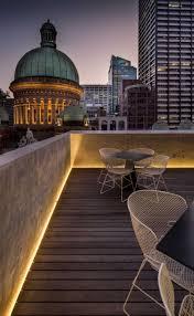Modern Patio Lighting Indirect Patio Lighting Comfort On The Terrace Or Balcony