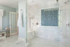 Corian Blue Pebble 27 Walk In Shower Tile Ideas That Will Inspire You Home
