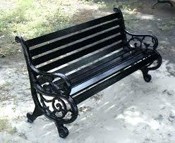 wrought iron bench ends outdoor bench ends door county wedding venues wrought iron garden