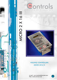 aro welding controllers aro pdf catalogue technical