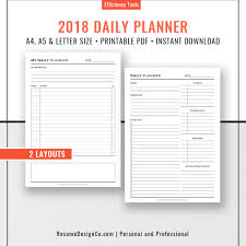planner refills daily planner a4 a5 letter size u2013 resumedesignco
