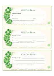 2017 gift certificate form fillable printable pdf u0026 forms