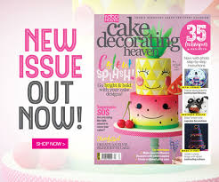 Sainsbury S Christmas Cake Decorations by Cake Decorating Heaven July August Issue U2013 On Sale Now Food Heaven