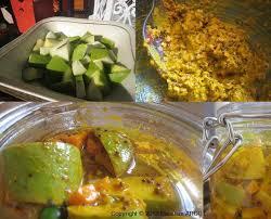 cuisiner mangue achard mangues vertes carottes recettes ile maurice