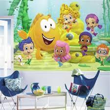 bubble guppies xl wall mural 10 5 u0027 6 u0027 roommates