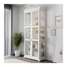 Ikea White Storage Cabinet Liatorp Glass Door Cabinet Gray Liatorp Glass Doors And Glass