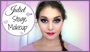 professional stage makeup juliet stage makeup tutorial kathryn