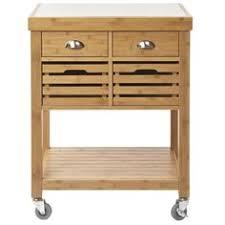 bamboo kitchen island boraam aya bamboo kitchen cart with stainless steel top i like it
