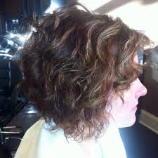 he gets excited having his hair permed and highlighted end result of a spiral perm she is one happy client