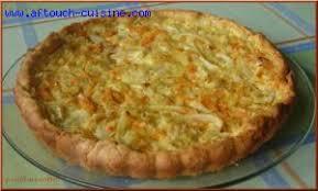 cuisiner choux blanc tarte au chou blanc recette aftouch cuisine