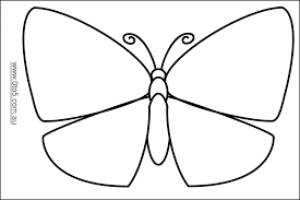 large butterfly template 1050