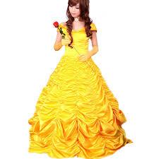 Bell Halloween Costume Aliexpress Buy Princess Belle Costume Women Beauty