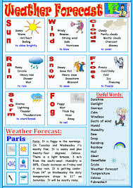 weather forecast worksheet free esl printable worksheets made by
