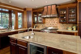 granite countertop latest kitchen cabinet brick backsplash tile