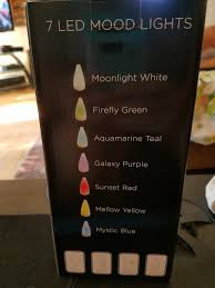 Firefly Led String Lights by 4 Star Review Viva Naturals Aromatherapy Essential Oil Diffuser