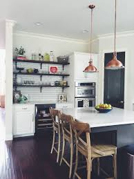 kitchen remodel ideas white cabinets open shelves marble