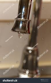 kitchen water faucets chrome kitchen water faucet close water stock photo 207426769