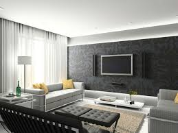 living modern living room decoration design ideas wall mount