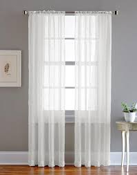 sheer pole top curtains