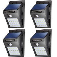 wireless sensor lights outdoor led solar lights outdoor waterproof solar powered motion sensor