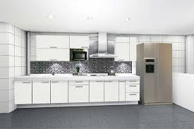 White Kitchen Wall Cabinets Wonderful Modern White Cabinet Doors For Intended Inspiration