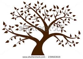 brown tree brown tree silhouette clip clipart free
