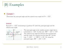 math 2 honors santowski1 lesson 41 u2013 angles in standard position