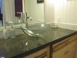 Awesome Bathroom Countertops Home Contemporary Home Decorating - Elegant bathroom granite vanity tops household