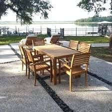 heritage park round dining table walmart patio seating sets teak patio dining set patio dining sets walmart