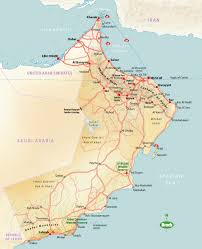 Dubai Map Of Middle East by Oman Travel Information And Guide Bradt Travel Guides