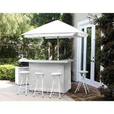 Gazebo With Bar Table Patio Bar Sets Outdoor Bar Furniture The Home Depot