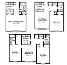 Two Bedroom Apartments Spice Tree Apartments Two Bedroom Apartment Floor Plans And