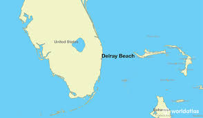 map of delray where is delray fl where is delray fl located in