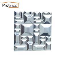 probrico morden furniture drawer knobs zinc alloy polished chrome