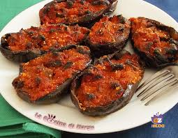 giallo zafferano cucina vegetariana melanzane ripiene ricetta vegetariana la cucina di marge