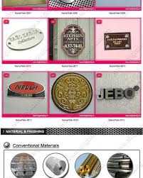 cool metal logo plates for handbags 11 in create logo online free