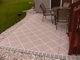 Cement Patio Sealer Impressive Resurfacing Concrete Patio With Ohio Concrete