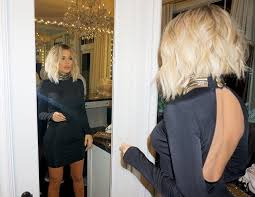 khloé kardashian debuts short lob khloe kardashian blonde bob haircut for 2016 stylecaster http