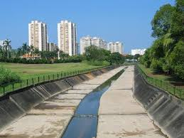 canap駸 habitat green canal in bishan to become river