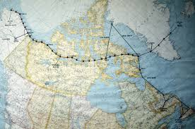 Pull Down World Map by Above The Arctic Circle A Cold War Rosh Hashana The Boston Globe