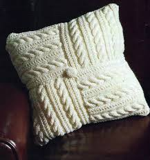 Patterns For Knitted Cushion Covers Pretty Aran Cushion Cover Pattern Easy Make From 8 Squares 418