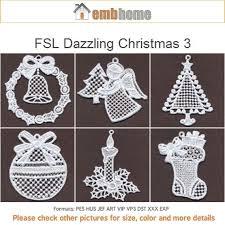 fsl dazzling ornament free standing lace machine