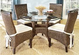 wicker dining room table interesting interior design ideas