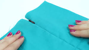 How To Make A Cushion With Zip How To Sew Invisible Zipper Made To Sew