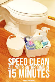 speed clean your bathrooms clean mama